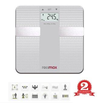 ROSSMAX PREMIUM DIGITAL WEIGHING SCALE WITH BODY FAT ANALYZER WF260[2 YEARS WARRANTY]