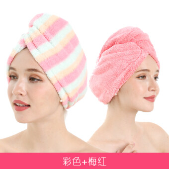Rub hair quick-drying towel dry hair cap