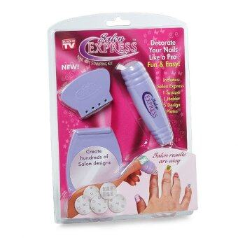 Salon Express Nail Art Stamping Kit Lazada Malaysia