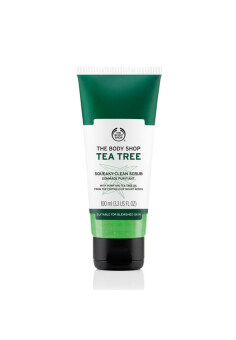The Body Shop(R) Tea Tree Squeaky-Clean Scrub 100ML