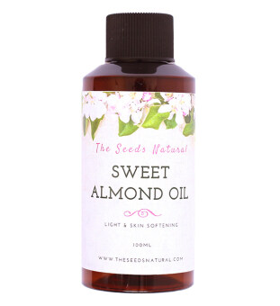 The Seeds Natural Sweet Almond Oil (Cold Pressed) 100ML