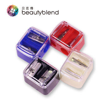 Tony view was double hole pencil sharpener makeup tools eyebrow pencil eyeliner pen lip liner pen can be
