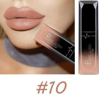 Women Beauty Makeup Waterproof Lip Long Lasting Metallic TattooNude Pink Lip-stick Matte (#10)