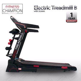 1 YEAR WARRANTY!!! 3.0HP Luxury Electric Treadmill Design B