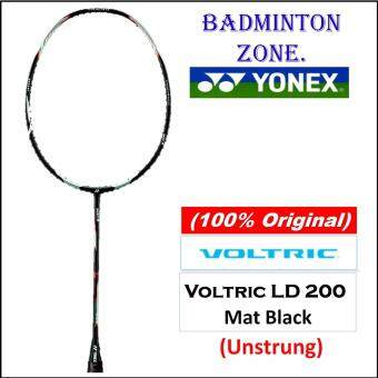 [100% Authentic] Yonex Voltric LD 200 (Mat Black)(5UG5) (Unstrung) Badminton Racket