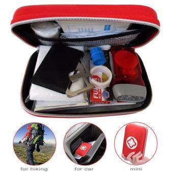 16Pcs Mini First Aid Kit Emergency Survival Kit Medical SuppliesTrauma Bag for Home, Outdoors, Car, Camping