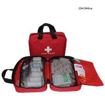 180pes Hiking Medical Pack Set Empty Bag for Emergency Kits SafeSurvival Travel First Aid Kit Outdoor Wilderness Camping