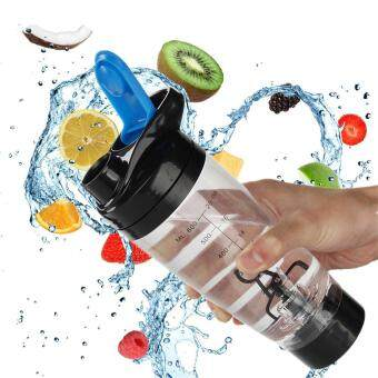 600ml Shaker Cyclone Cup Electric Protein Shaker Tornado Mixer Fitness Bottle