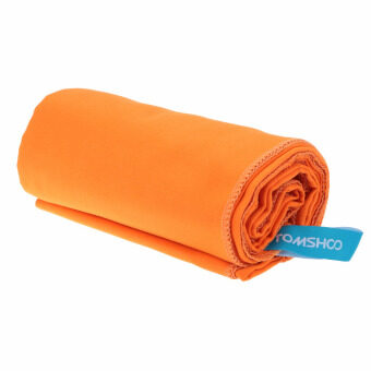 75*130cm Microfiber Quick Drying Towel Compact Travel Camping Swimming Beach Bath Body Gym Sports Towel Orange