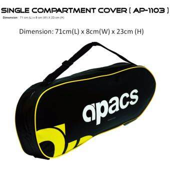 Apacs Single Compartment Cover AP1103 (Yellow)