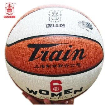 Basketball 6 NO. Genuine train head TB6510 six No. Women's high school students fancy basketball Pu wear and game