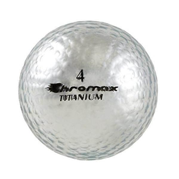 Chromax High Visibility M1x Golf Balls 6-Pack, Silver - intl