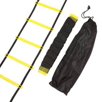 Durable 12 Rung 18 Feet 6m Agility Ladder For Soccer Speed