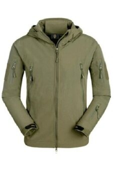 ESDY Soft Shell Military Windproof Jacket (Green)