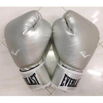 EVERLAST Training Boxing Muay Thai Gym Punching Bag Beg Tinju Glove Weight 8oz.