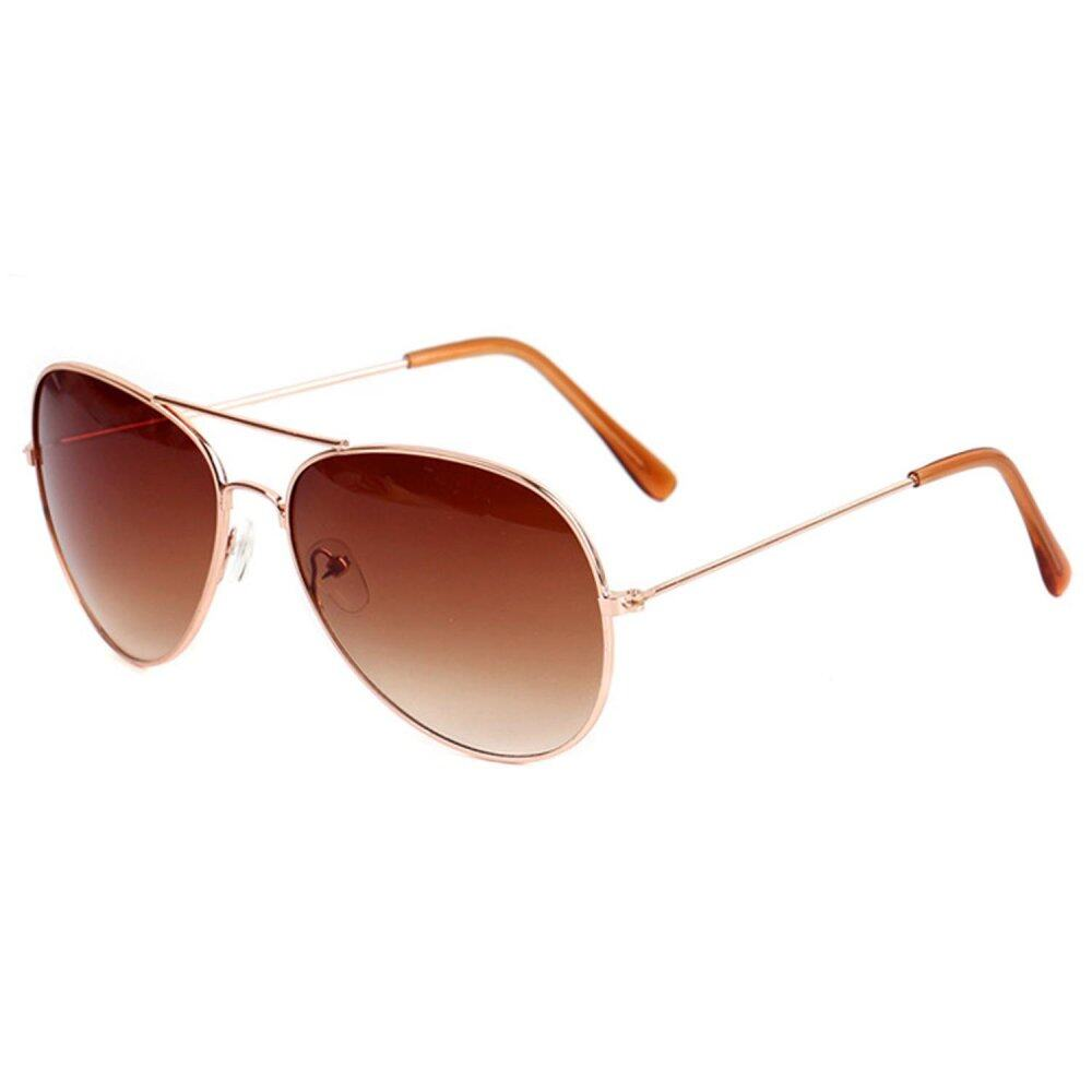 ladies aviator sunglasses  Fashionable UV400 Metal Frame Aviator Sunglasses Vintage Retro Sun ...