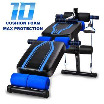 Jianuo Fitness Gym Sit Up Bench Six Pack ABS Workout Bench (10 Cushion Foam)