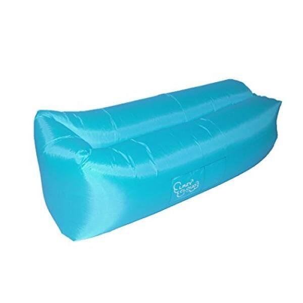 [Lamore] Premium Tahan Air Outdoor Inflatable Lounger dengan Parasut Bahan Ripstop, Pesawat Terbang Portabel, Sofa Lazy Hangout Bagus untuk Air, Pantai, Berkemah, dan Penggunaan Rumah-Lazy Cloud BED-Intl