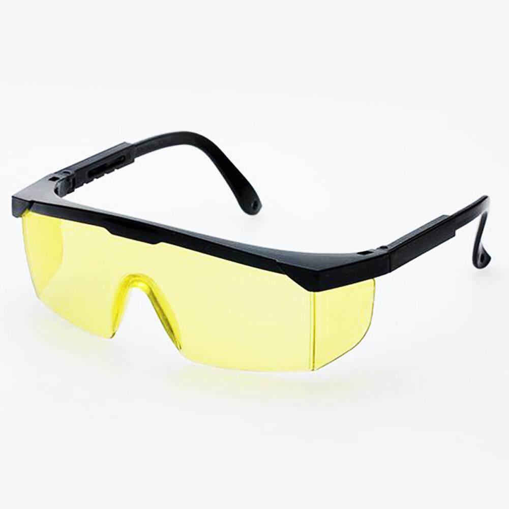 DL Ringan Berat Tahan Lama Portabel Dapat Disesuaikan Kacamata Perlindungan Laser Kacamata Olahraga Spesifikasi: hitam Bingkai Kuning Lensa Keberuntungan-G-Internasional