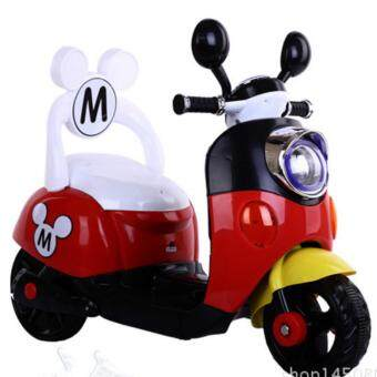 Mickey Mouse Electric Bike / Scooter (Red)