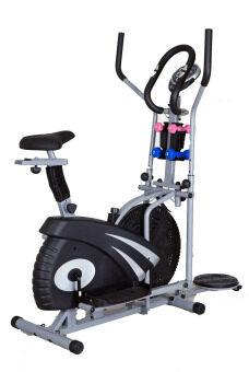Multifunction cross trainer orbitrac with twister