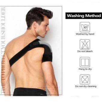 New Men Shoulder Brace Support Strap Wrap Belt Dislocation NeoprenePain Band