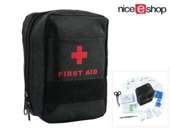 niceEshop First Aid Bag, First Aid Kit Medical Survival Bag MiniEmergency Bag For Car, Home, Picnic, Camping, Travelling And OtherOutdoor Activity (44pcs/Set)