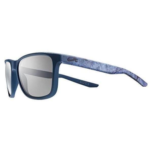 Nike Golf Kerusuhan Se Kacamata Hitam, Warna Tidak Mengkilap Squadron Biru/Dalam Timah Bingkai, Grey Lensa-Internasional