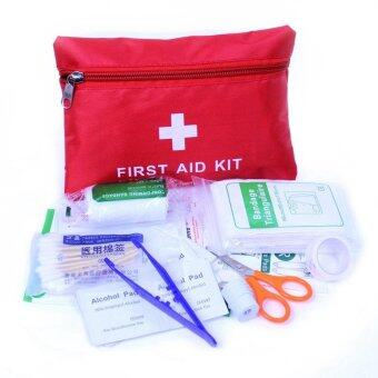 Outdoor Home Survival First Aid Kit Camping Trip Medical Bag