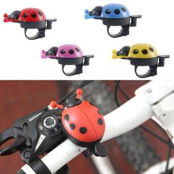 PAlight Lovely Kids Beetle Ladybug Ring Bicycle Bell Cycling BikeRide Horn Alarm Trumpet Horns