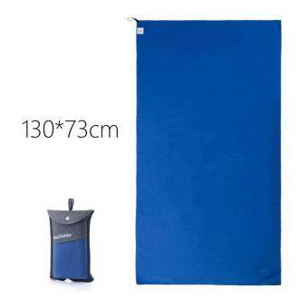 ( Ready Stock) Large NatureHike Ultralight Microfiber Quick Drying Absorbent Towel (130cm x 75cm) (BLUE)