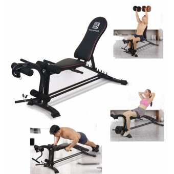 SellinCost Multifunction Multi Usage Position Adjustable Incline Level Master Six Power Gym Sit Up Dumbbell Bench Fast 6 Packs Fitness MK-31D Workout Anit-slip Based