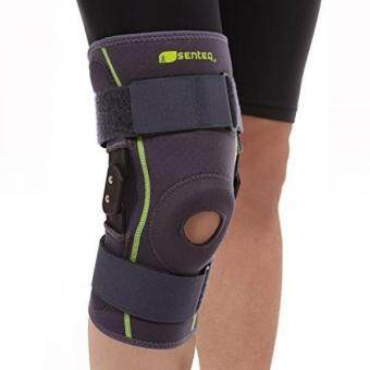 SENTEQ Hinged Knee Brace, Medical Grade and FDA Approved,Breathable Neoprene Knee Brace Provides Support and RelievesPatella Tendonitis, Stabilize ACL/LCL Ligament and Arthritic Pain