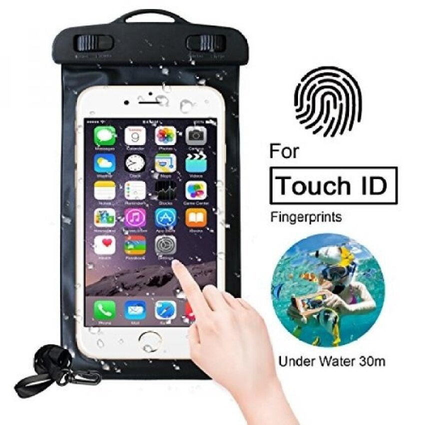 Universal Waterproof Case with Super Sealability Technology.CellPhone Dry Bag Pouch with Sensitive PVC Touch Screen forCellphone up to 6.0 diagonal - intl