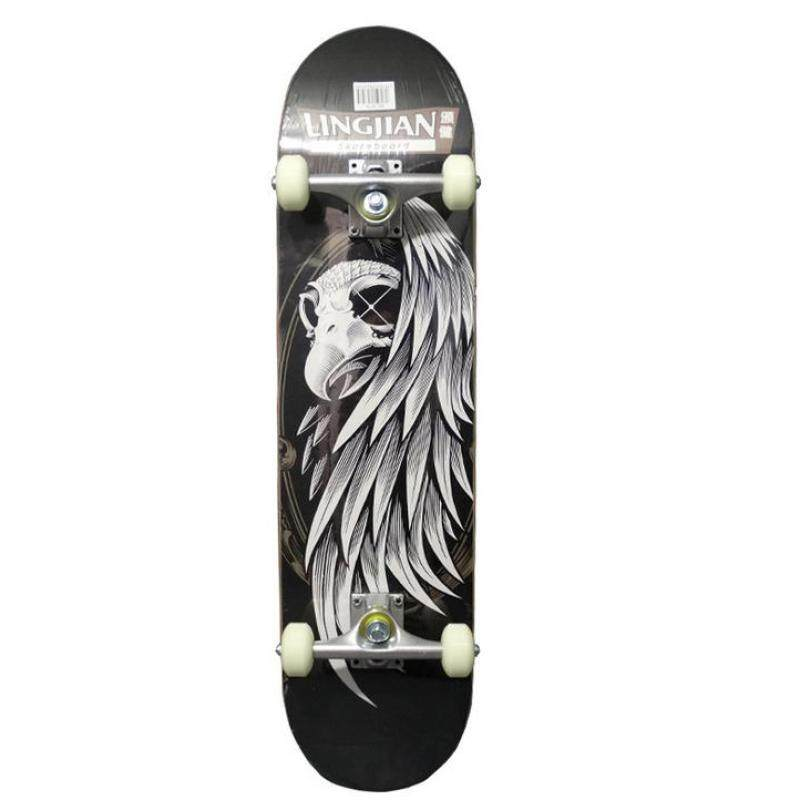 WI Cartoon skateboard - intl