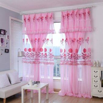 6m korean lace wedding living room bedroom blossoming for B m living room curtains
