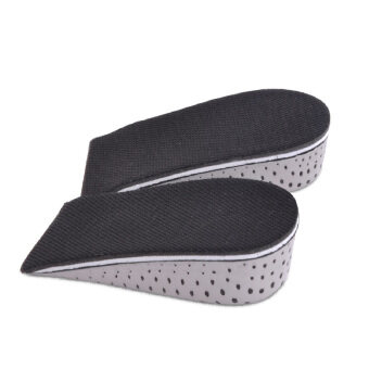 1 Pair Memory Foam Height Increase Insole Breathable InvisibleIncreased Insole Shoe Lifts Shoe Pads Elevator Insoles for MenWomen 4.3cm