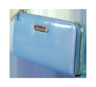 Alfio Raldo Blue Synthetic Leather