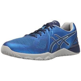 ASICS Mens Conviction X Cross-Trainer Shoe Imperial/Indigo Blue/Mid Grey US