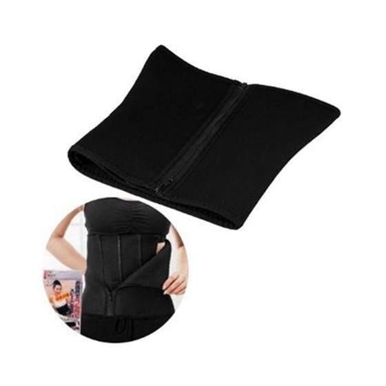 Bauch Weg Gürtel Bauchweggürtel Bauchgurt Taillenformer Schwarz-Internasional