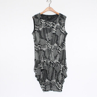 Bellvilles bymeb6080 black pattern dress
