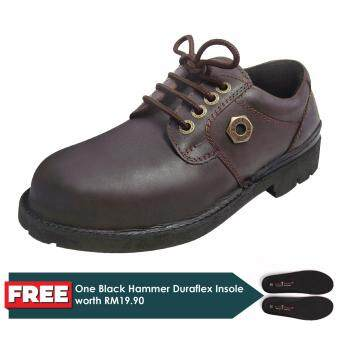 Black Hammer 4000 Series Low cut Lace up Safety Shoes