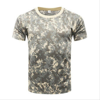 Brand New Summer Military Camouflage Men T-shirt Casual TacticalArmy Combat O Neck T Shirt Men Quick Dry Short Sleeve Camo Clothing