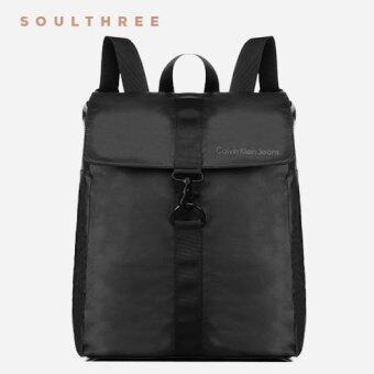 CALVIN KLEIN Nyssa Hook Lock Backpack (Black)