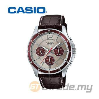 CASIO STANDARD MTP-1374L-7A1V Analog Mens Watch - Date Day Display