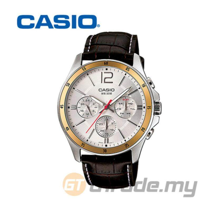 CASIO STANDARD MTP-1374L-7AV Analog Mens Watch Date Day Display Malaysia