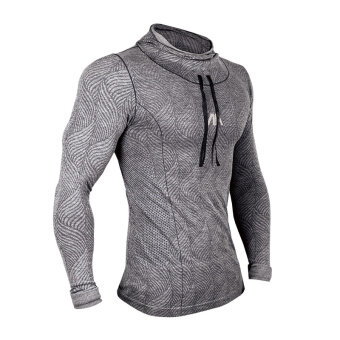 CMOGOOD long-sleeved quick-drying sweat fitness room training clothes slim fit clothing