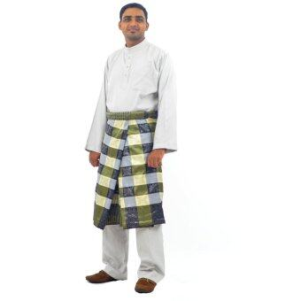 Cotton & Silk - Baju Melayu NFL 12 - Baju Melayu Poly Cotton Alexander - B4 (Gray)