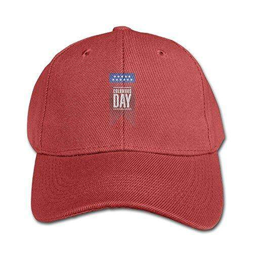 Elephant AN Columbus Day Banner Pure Color Baseball Cap Cotton Adjustable Kid Boys Girls Hat - intl