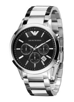 Emporio Armani Men's Silver Stainless Steel Watch AR2434